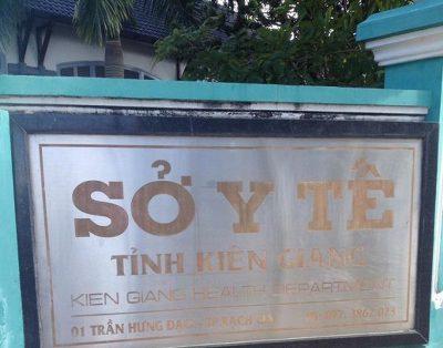 Sở Y tế tỉnh Kiên Giang